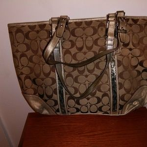 Autuentic coach purse